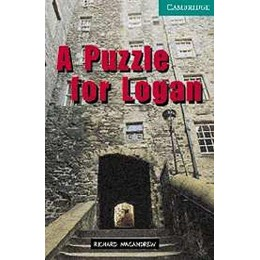A Puzzle for Logan Level 3 Book with Audio CDs (2) Pack (Cambridge English Readers)