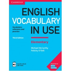 English Vocabulary in Use Elementary Third Edition Book with Key and Enhanced eBook