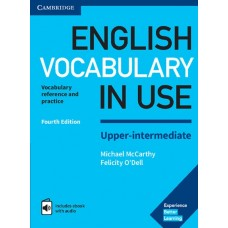 English Vocabulary in Use Upper Intermediate Fourth Edition Book with answers and Enhanced eBook