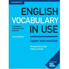 English Vocabulary in Use Upper Intermediate Fourth Edition Book with answers