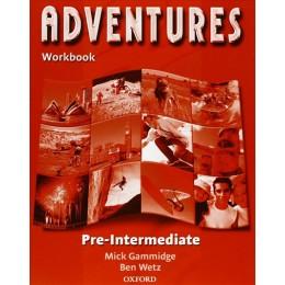 Adventures Pre-intermediate Workbook Book
