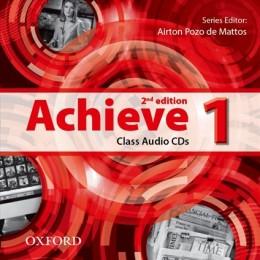 Achieve 1 Second Edition Class Audio CD