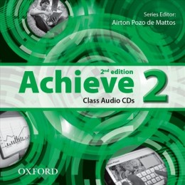 Achieve 2 Second Edition Class Audio CD