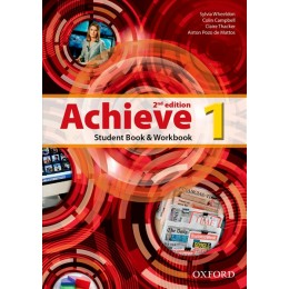 Achieve 1 Second Edition Student's Book and Workbook