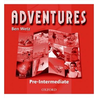 Adventures Pre-intermediate CD (Set of 2)